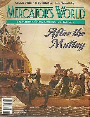 MERCATOR'S WORLD Antique Map Magazine Mutiny on the Bounty Blaeu Delisle Africa