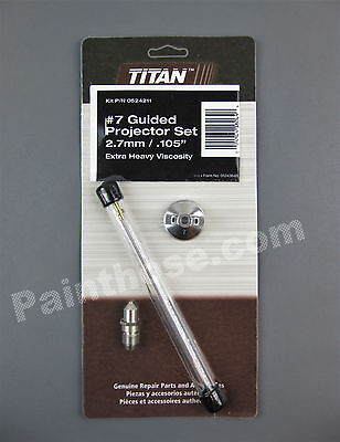 Titan Capspray 0524211 Or 524211 7 Guided Projector Set - Oem