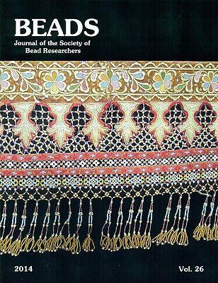 BEADS 26: Malay Beadwork, Congo, Cambodia, Analysis, Champlain Maine, Necklaces