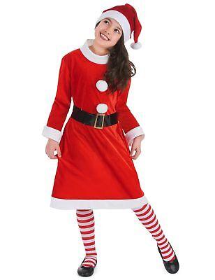 süßes Weihnachtsfrau-Kostüm für Mädchen mit Bommeln Cod.305080 (Weihnachts-kostüm Für Mädchen)