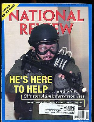 National Review Magazine May 22 2000 Spring Book Issue Ex W Ml 010617Jhe