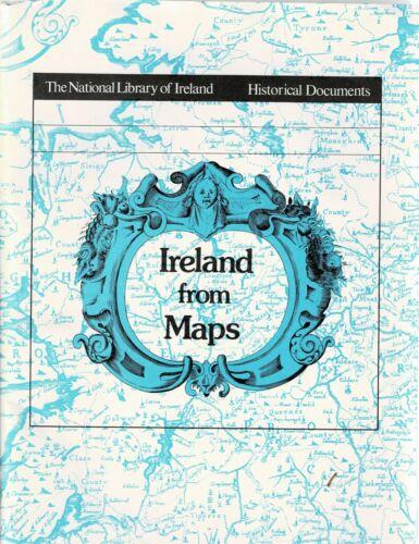 Ireland From Maps-National Library Of Ireland-Historical Documents-16 Maps+Bklt