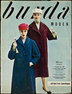 Burda Moden 10.1956