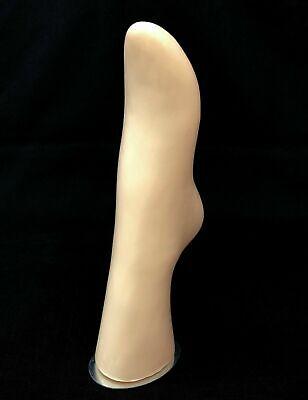 Magnetic Bottom Self Standing Leg Foot Mannequin Sock Display Foot Stand