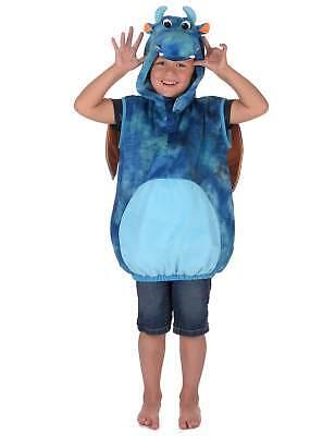 Blaues Drachen-Kostüm für Kinder - Drachen Kostüm Für Kind