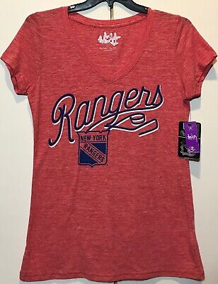 NWT New York Rangers Women's Size Large T-shirt NHL Hockey Tee Shirt NY Lite - New York Rangers Hockey