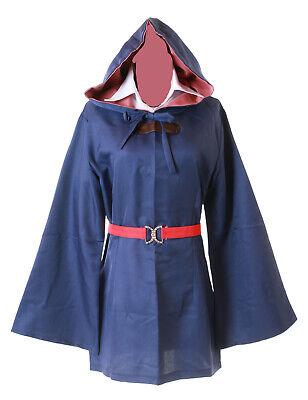 MN-52 Akko Atsuko Little Witch Academia blau Hexe - Blau Hexe Kostüm