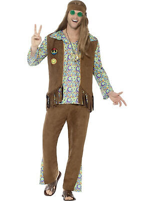 60er Jahre Hippie-Kostüm Herren - Cod.240959