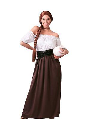 Mittelalterliches Wirtinnen Kostüm für Damen - Mittelalterliche Kostüm Für Damen