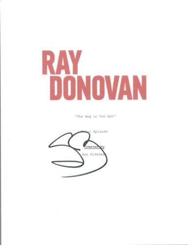 Steven Bauer Signed Autographed RAY DONOVAN Pilot Episode Script COA