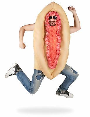Humoristisches Vagina-Kostüm für Herren hautfarben-rosa - Kostüm Haut