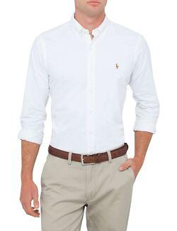 Polo Ralph Lauren White Cotton Shirt