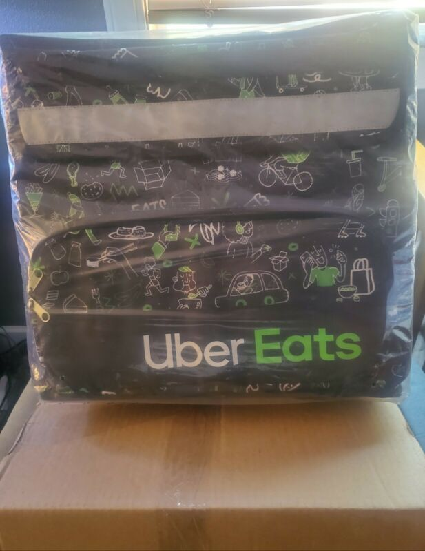 Uber Eats Delivery Insulated Backpack Limited Edition Artist Series Bag (Sophia)