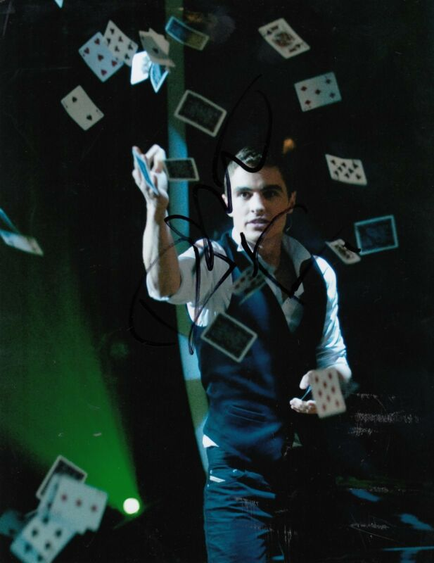 DAVE FRANCO signed *NOW YOU SEE ME 2* movie 8X10 Jack Wilder photo W/COA #1