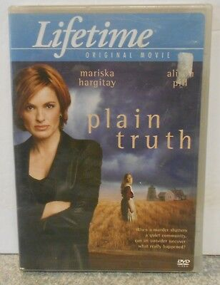 Plain Truth (DVD, 2005) RARE LIFETIME CRIME MYSTERY DRAMA BRAND NEW