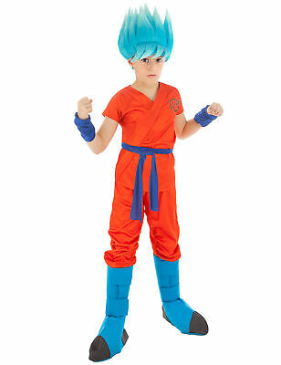 Dragonball Z-Kostüm für Kinder Son Goku-Kinderkostüm orange - - Son Goku Dragon Ball Z Kostüme