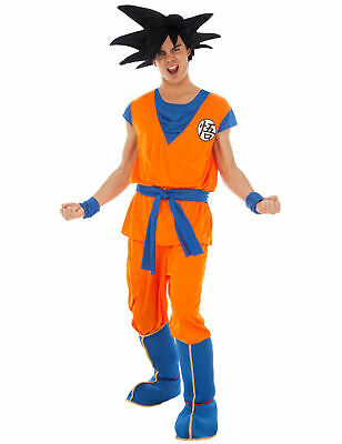 Son Goku-Kostüm Dragonball Z-Kostüm orange - - Son Goku Dragon Ball Z Kostüme