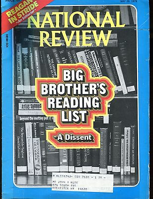 National Review Magazine May 28 1976 Reading List Vg W Ml 010617Jhe