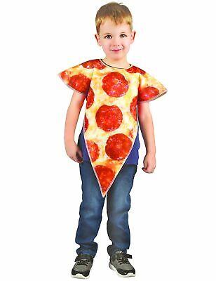 Pizza-Kostüm für Kinder beige-rot Cod.313323