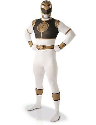 Zweite Haut Kostüme Power Rangers weiß für Männer - Power Rangers Kostüme Männer