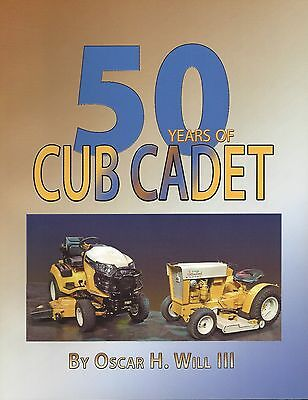 50 Years of Cub Cadet book