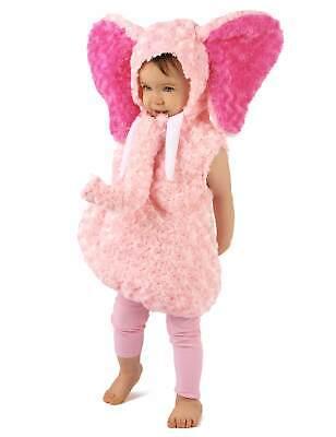 Kleiner Elefant Kleinkinder-Tierkostüm rosa-pink Cod.308277 (Kinder Elefanten Kostüme)