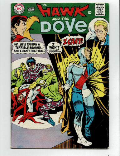 Hawk and the Dove 1 affordable DC Silver Age #1 key