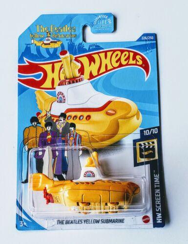 Hot Wheels - Treasure Hunt - The Beatles Yellow Submarine 2020 N Case #226 For Sale - 1