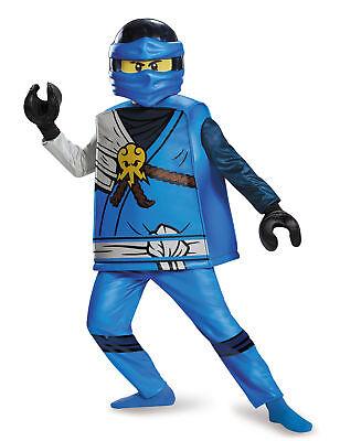 Hochwertiges Lego®-Kostüm von Jay Ninjago Cod.237151