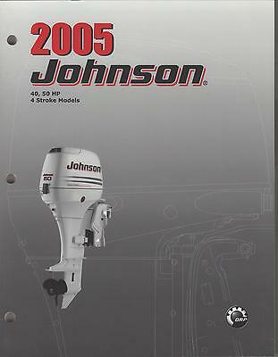 2005 Johnson Outboard 40,50 Hp 4-stroke Service Manual