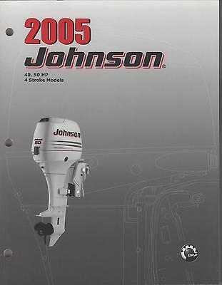 2005 Johnson Outboard 40,50 Hp 4-stroke Service Manual