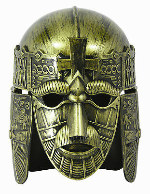 - Forum Halloween Cosplay Gold Full Face Medieval Warrior Costume Helmet Mask