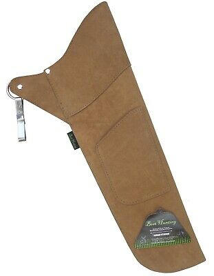Right Hand . NEW TRADITIONAL FINE SUEDE TANNED QUIVER ARCHERY PRODUCTS AQ117