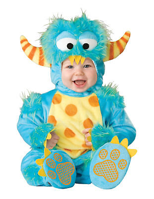 Lil' Monster Infant Toddler Costume Scary Kids Headturner Color Splash Halloween (Lil Monster Toddler Costume)