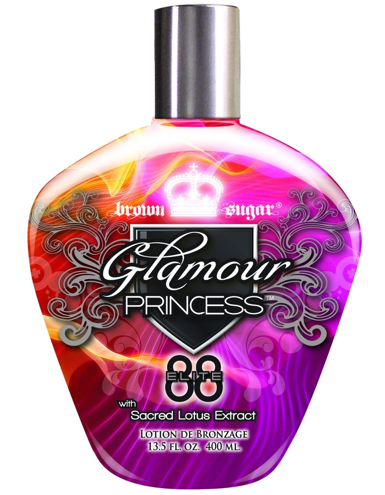 Tan Incorporated Glamour Princess Bronzer Tanning Lotion 13.