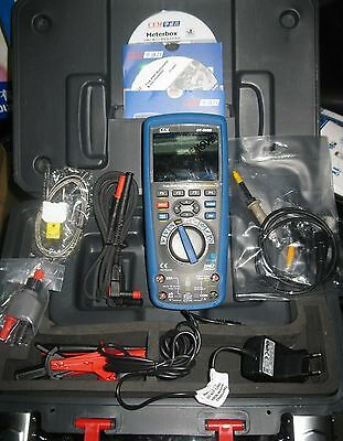 Handheld 10mhz 50msas Oscilloscope True Rms Multimeter 2in1 Bluetooth Tft Lcd