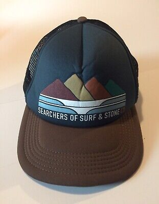 Searcher For Surf And Stone Trucker Hat Hippytree Snapback One Size Fits Most Surf Trucker Hats