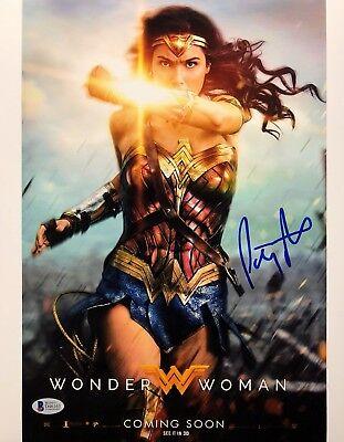 Patty Jenkins Signed Wonder Woman 11X14 Photo Bas Beckett D46163