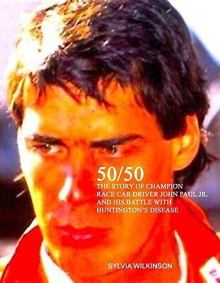 50/50 - BOOK ON JOHN PAUL JR. - AUTO RACING IMSA LE MANS INDY 500