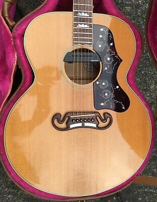 Gibson J200 Acoustic Guitar 1990 Maple