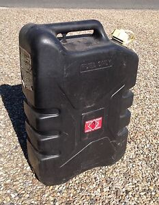 Plastic 20 litre diesel jerry can Wishart Brisbane South East Preview