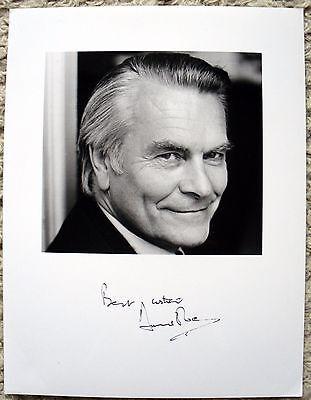 David Owen autograph - politician