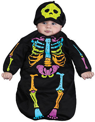 Skelebaby Bunting Cute Child Costume Colorful Skeleton Bunting Funworld