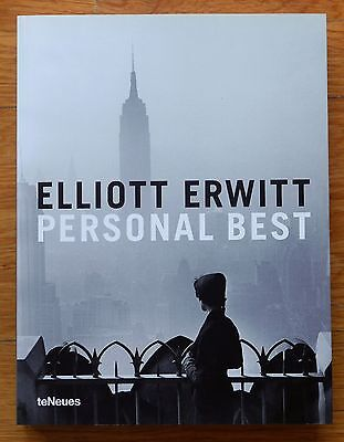 SIGNED - ELLIOTT ERWITT - PERSONAL BEST 1ST SOFTCOVER EDITION 2009 - FINE