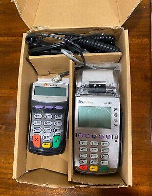 Verifone Vx520 Credit Card Machine And Pin Pad Brand New