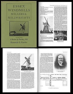 ESSEX WINDMILLS MILLERS & MILLWRIGTS Volume 4 F - R Mühlengeschichte