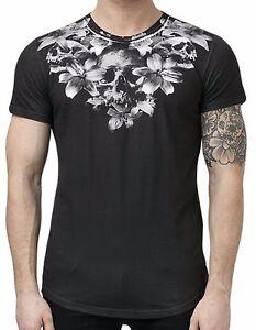 Religion-Clothing-Camiseta-T-Shirt-Hombre-034-Esqueleto-Lily-034-NUEVO