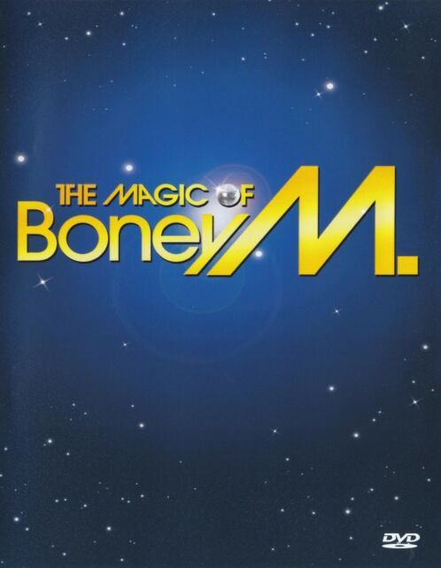 BONEY M - THE MAGIC OF BONEY M ( PAL DVD ) GREATEST HITS / BEST OF 70's  *NEW*