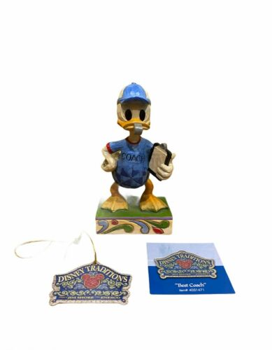 Disney Traditions Showcase Collection Best Coach Donald Duck 4031471 NWT