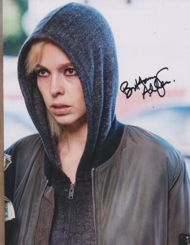 Brittany Allen Signed Jigsaw 10x8 Photo AFTAL